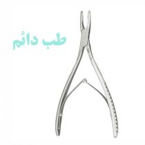 KLEINERT-KUTZ BONE RONGEUR 15 cm / 3 mm / 8 mm strongly curved