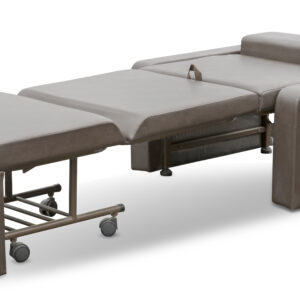 Bed chair with patient